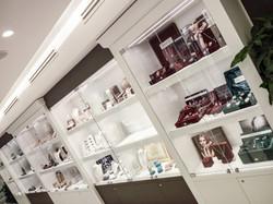 Arredo vetrine e teche per gioielli, bijoux, argenteria, esposizione gioielleria