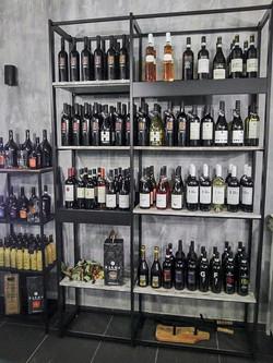Espositore vini, scaffali enoteca, arred