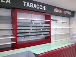 mobili tabaccheria, ripiani portasigaret