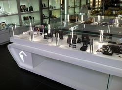 Espositore teca centrale gioielleria, orologeria, bigiotteria