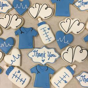Doctor and Nurse Appreciation Cookies
