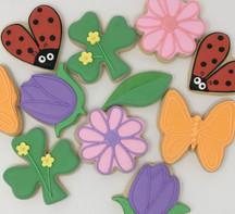 Spring Time Sugar Cookies