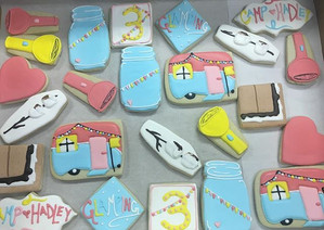Glamping Sugar Cookies