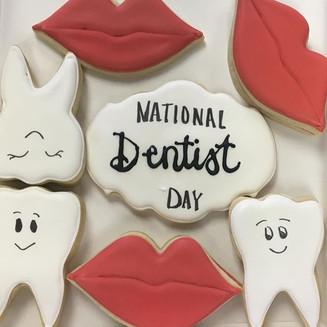 Dentist Day Cookies