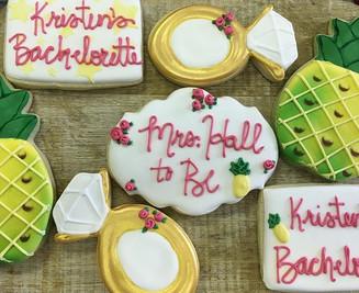 Pineapple Celebration Cookies
