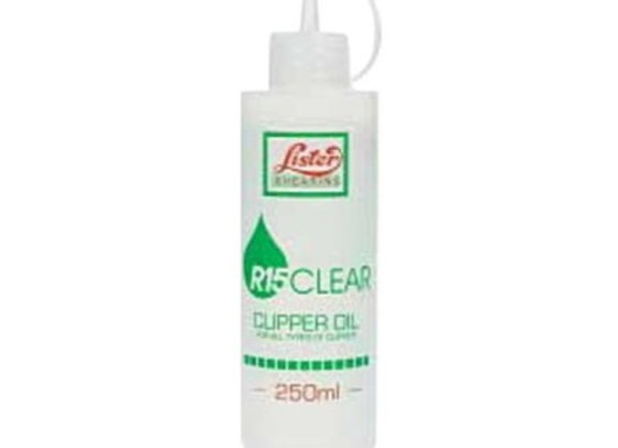 Huile 250 ml Lister pour l'entretien de vos tondeuses pour chevaux - Primatondeuses