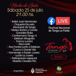 ANA FONTÁN , JUAN CUACCI, DANIEL VILÁ, FESTIVAL DE TANGO DE LA FALDA