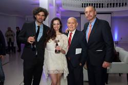 Condor de Plata Ana Fontan, Armando Bo, Victor Bo, Guillermo Alamo_