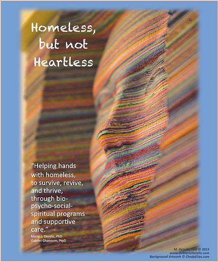 Homeless Not Heartless, Dr Marie Dezelic, Artist Chady Elias