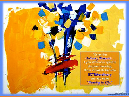 Ordinary Extraordinary Moments