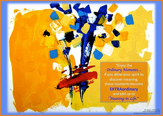 Ordinary Extraordinary Moments, Dr Marie Dezelic, Artist Chady Elias