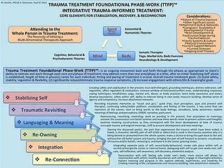 TRAUMA TREATMENT FOUNDATIONAL PHASE-WORK (TTFP)