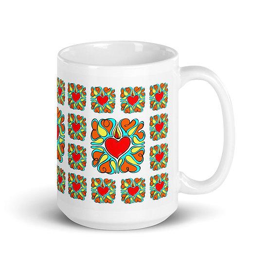 Flame of Love   Vantage   Mug 15 oz