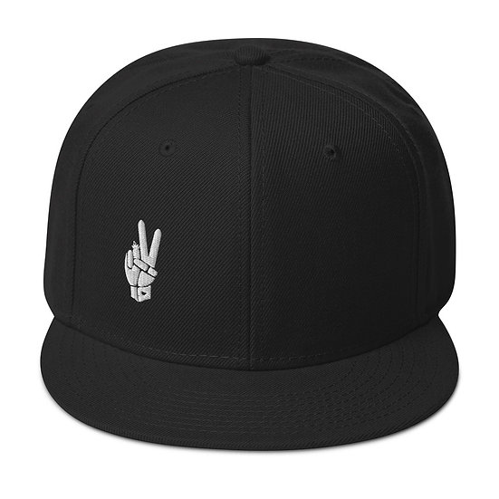 Peace Snapback Hat