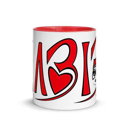 HABIBI - Mug with Color Red Inside