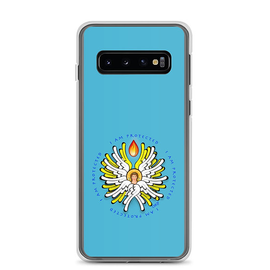 I Am Protected - White Angel - Samsung Case