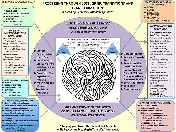 PROCESSING THROUGH LOSS, GRIEF, Dr Marie Dezelic