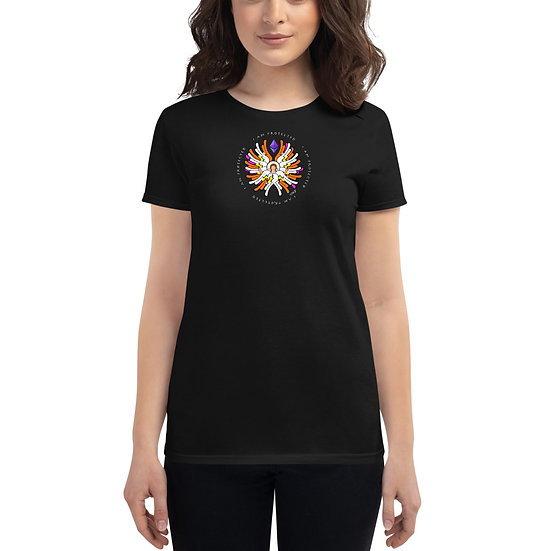 I Am Protected - Eth Angel - Women's short sleeve t-shirt