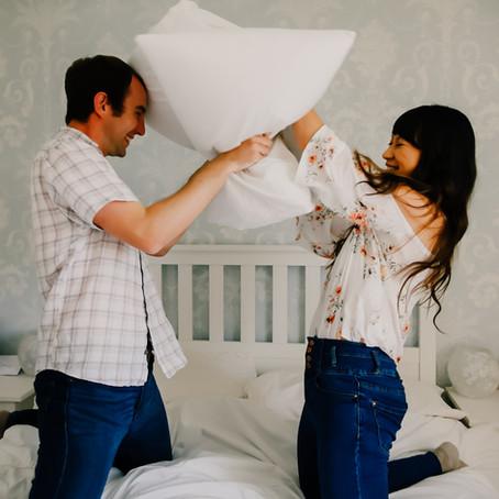 Dan & Jezza-Mae's At Home Couples Shoot, Eastwood Derbyshire