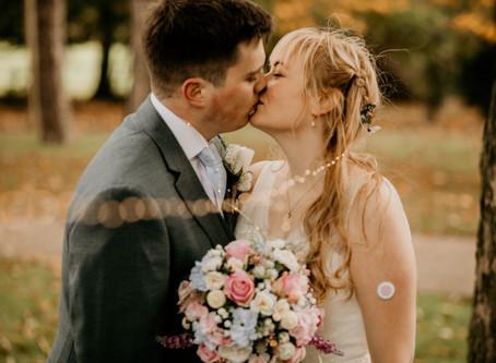 Peter & Carrie Ann's Lockdown Wedding at Morley Hayes Golf Club, Ilkeston