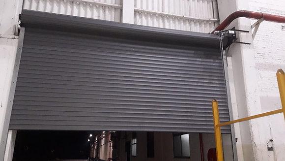 Portones Enrollables Automáticos para Depósitos, Galpones y Naves Industriales