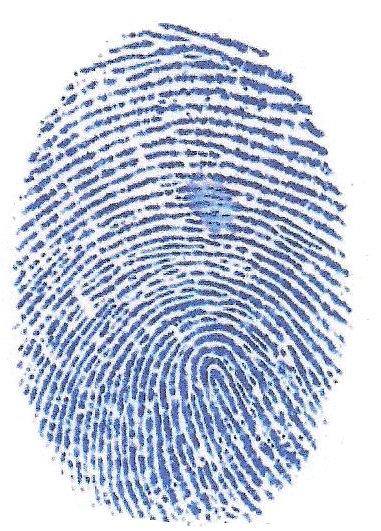 Blue Fingerprint 103