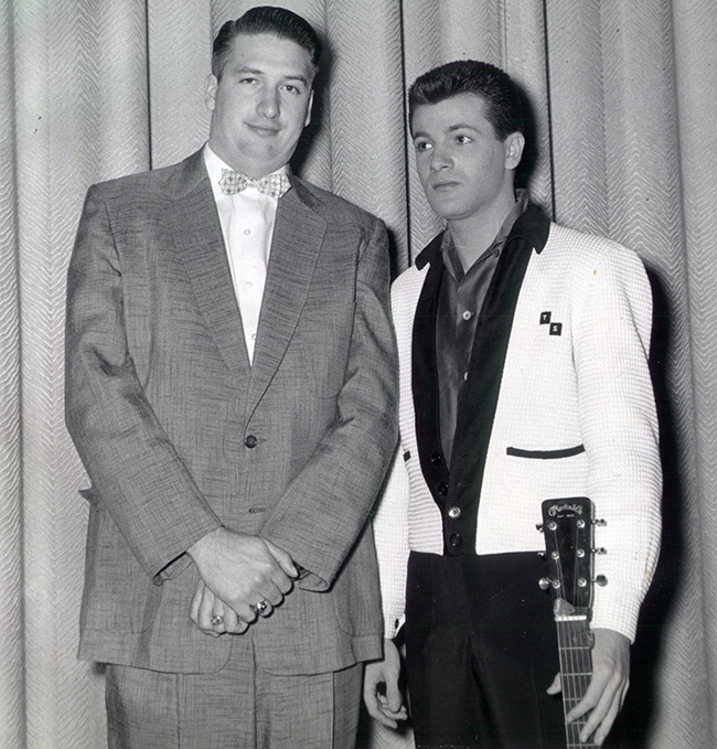Charlie and Tommy Sands