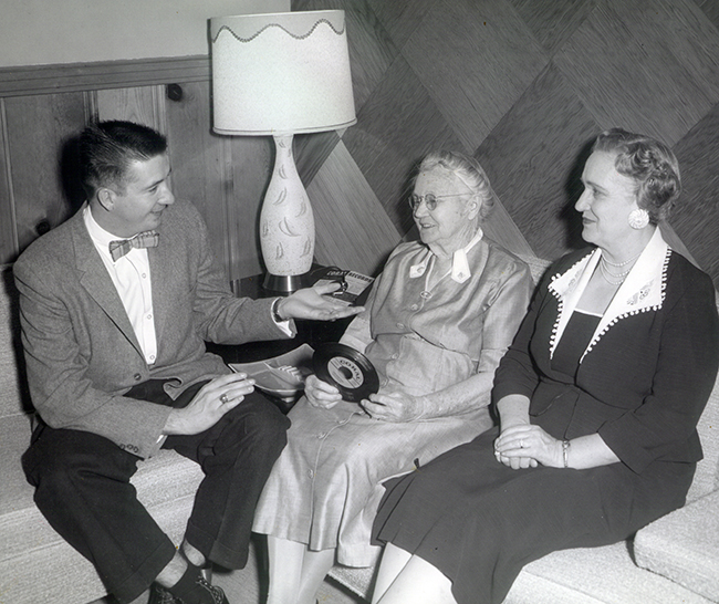 Charlie, Grandma, and Ma Kate