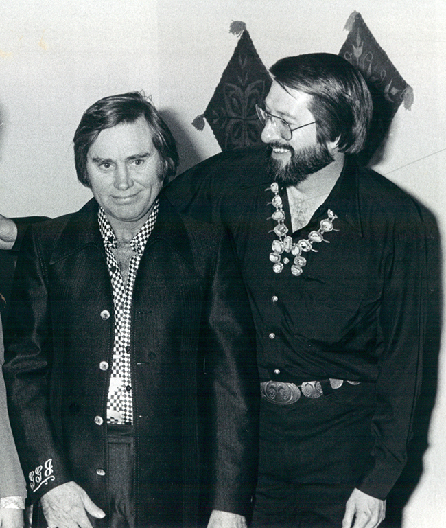 George Jones and Charlie