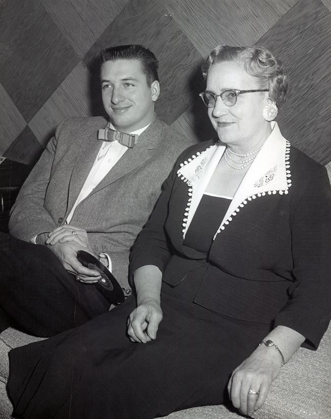 Charlie and Ma Kate