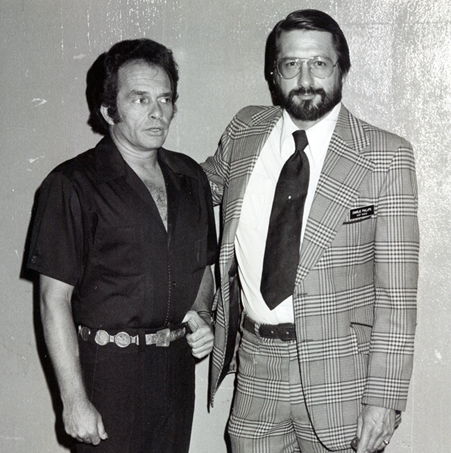 Merle Haggard and Charlie