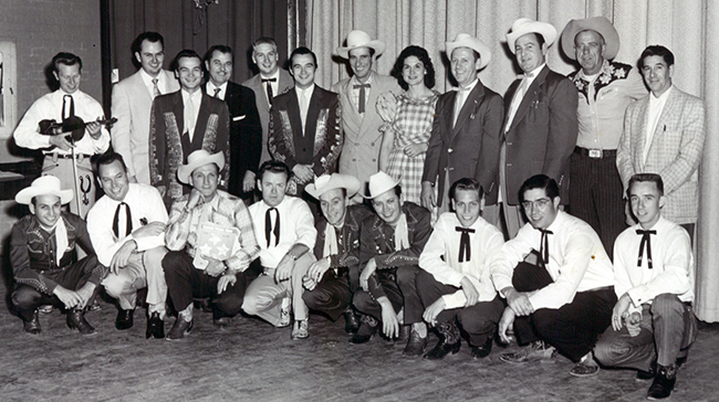 Various Country Music Musicians