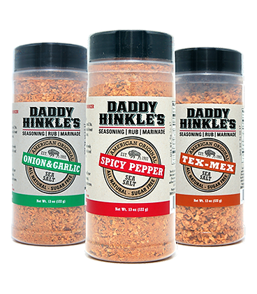 Daddy Hinkle's Seasonings