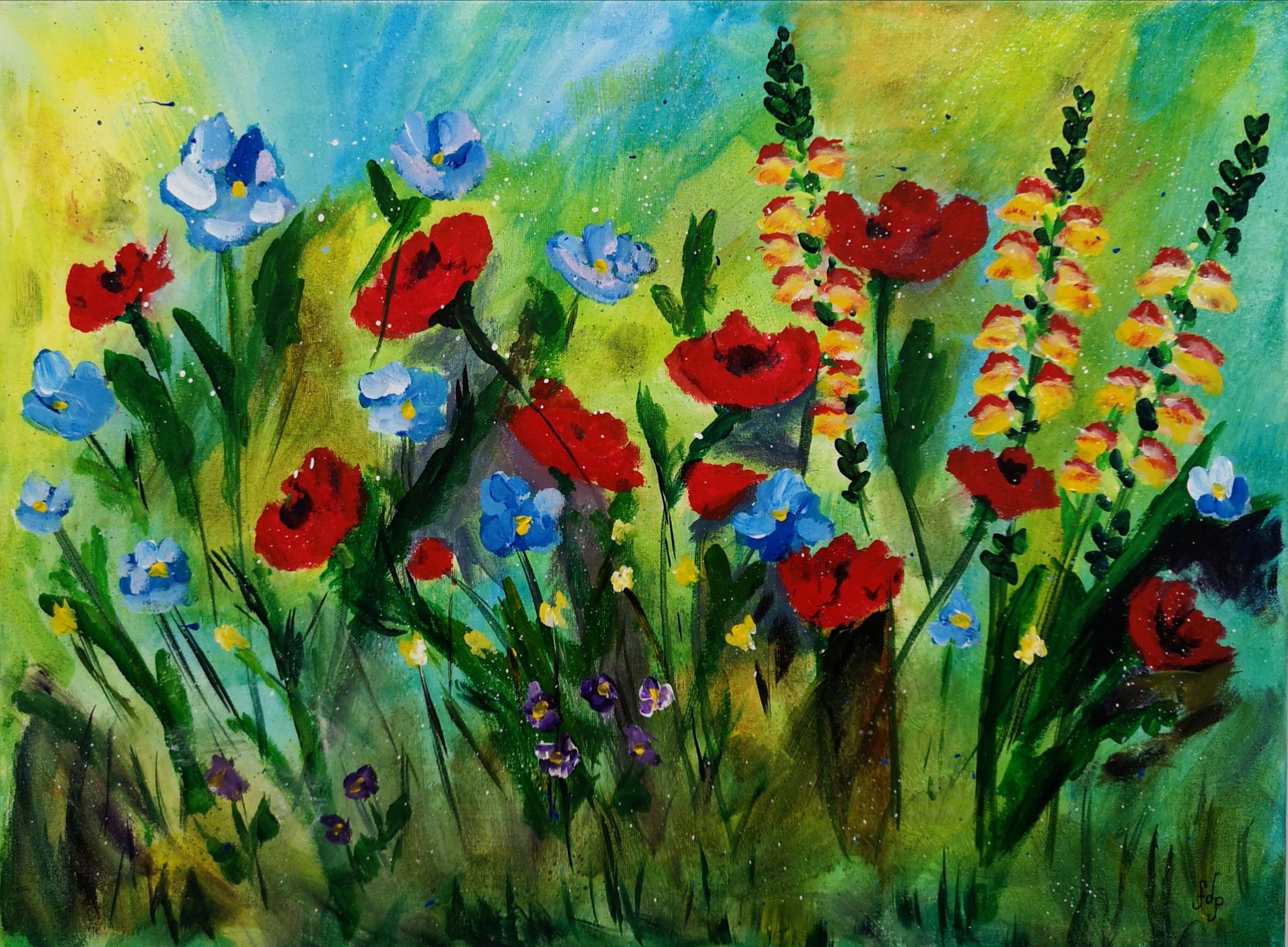 Meadow Flowers $290