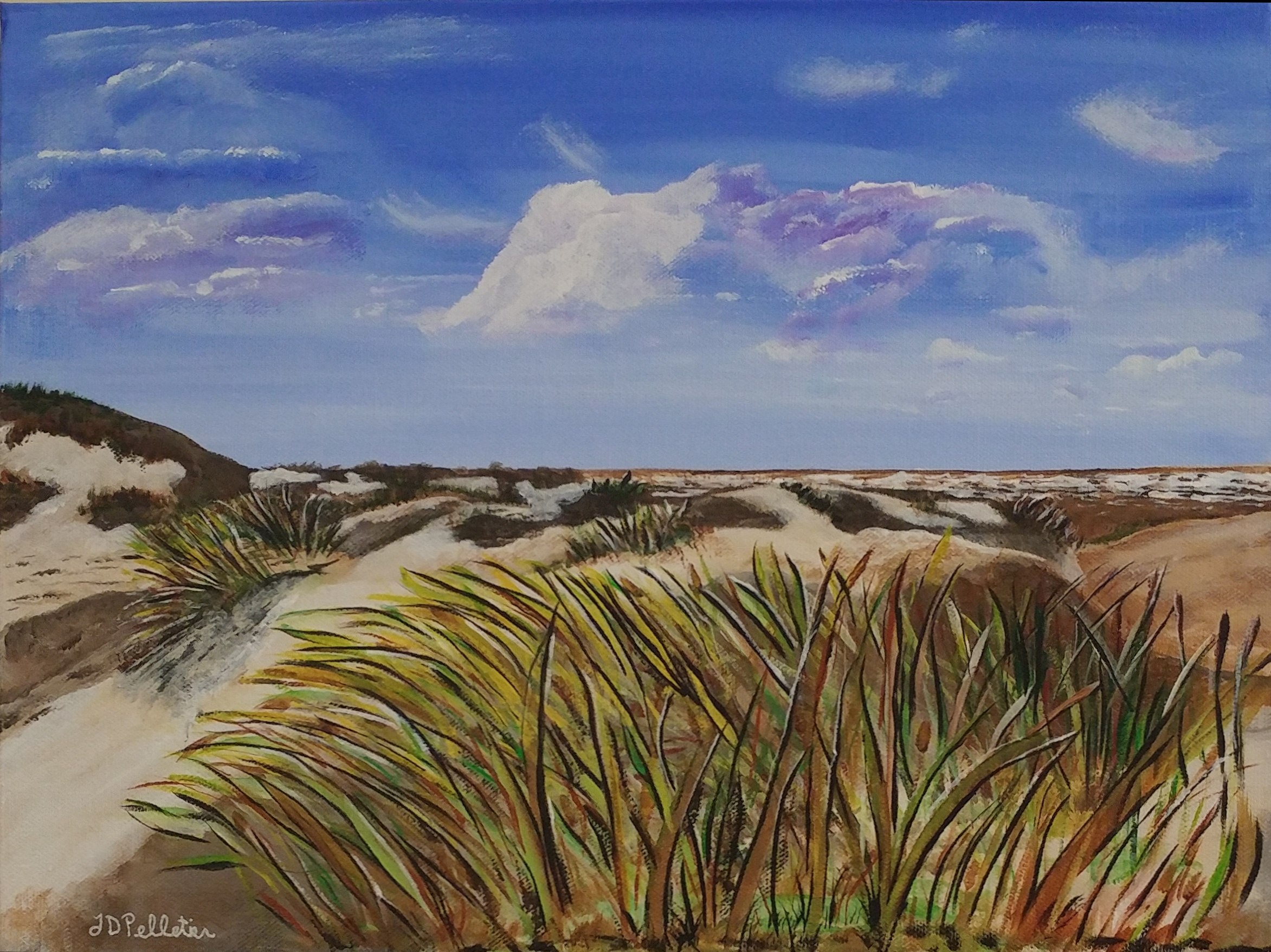 Dunes by the Sea (SOLD)