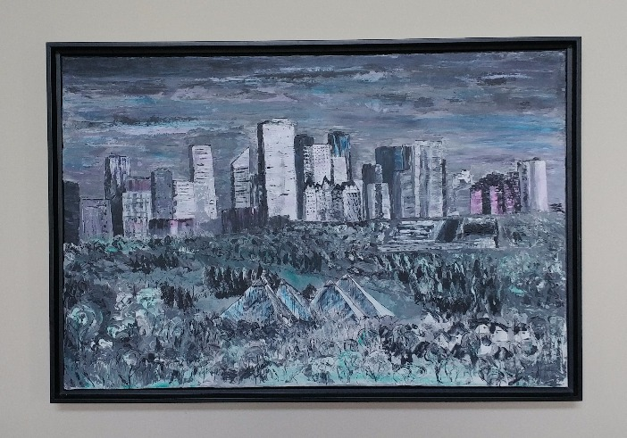 Edmonton Skyline  SOLD