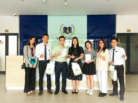 Vinschool dự định hợp tác triển khai nhiều hoạt động cùng Gieo trong năm nay