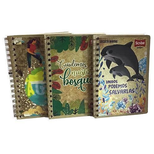 Cuaderno Ecológico Forma Francesa (1 pieza)