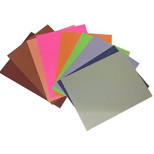 Hojas de color fuerte (1 pieza)