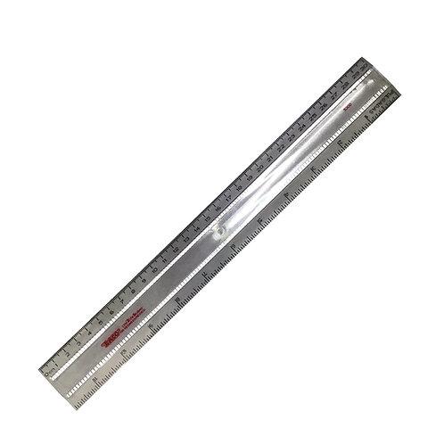 Regla de plástico de 30 cm R-5300 Marca Baco