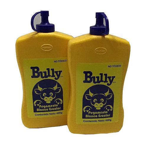 Pegamento blanco escolar Bully 490 gr (1 pieza)