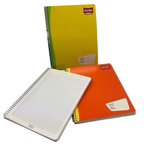 Cuaderno Profesional Cuadro Grande 7 mm Scribe (1 pieza)