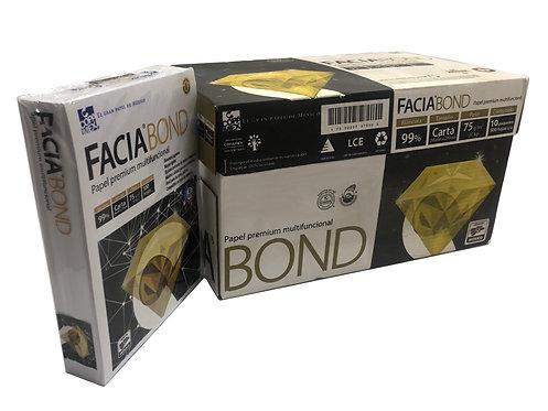 Caja de Hojas Facia Bond Tamaño Carta (5000 piezas)