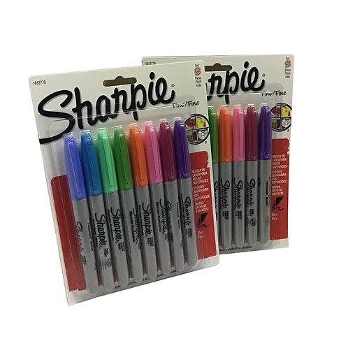 Marcadores de colores Sharpie (8 piezas)