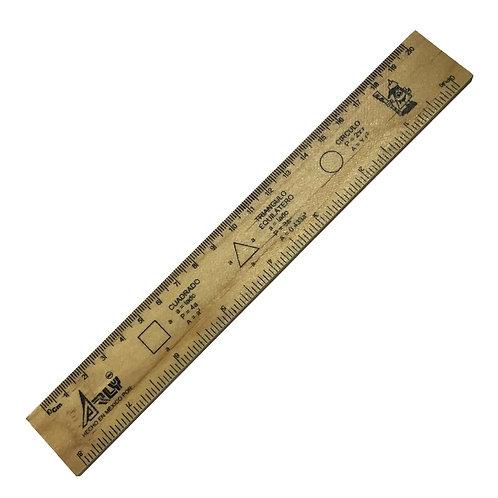 Regla de Madera Arly 20 cm