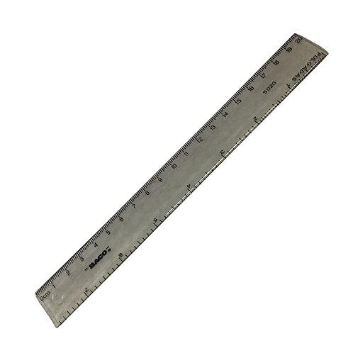 Regla de Plástico de 20 cm R-5020 Marca Baco