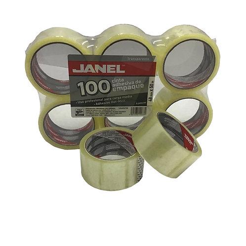 Cinta Transparente 48mm X 50m (1 pieza)