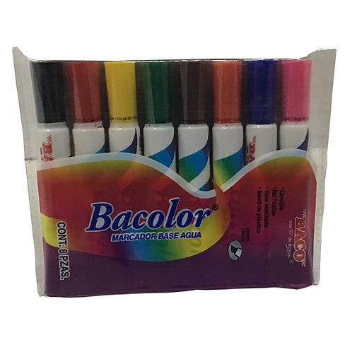 Estuche bacolor marcador base agua