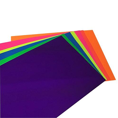 Pliego de Cartulina Fluorescente (1 pieza)