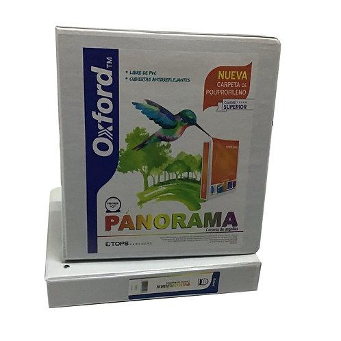 """Carpeta Panorama Blanca Tamaño Carta 1 1/2"""" HO (1 pieza="""